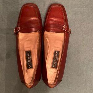 ColeHaan leather shoe EUC